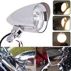 Motorcycle Chrome Aluminum Bullet Headlight Lamp Fit For Harley Bobber Chopper