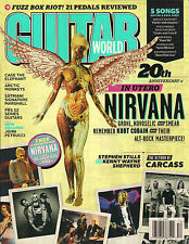 GUITAR WORLD December 2013 NIRVANA Soundgarden Black Hole Sun Molly Hatchet TAB