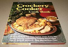 Books, Better Homes and Gardens, Crockery Cooker Cook Book, Recipes, HC
