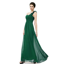 Women Long Chiffon Evening Gown Bridesmaid Dresses Prom Formal Party Ball Gowns