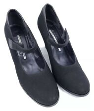 Donald J Pliner Womens Shoes Wedges Heels Mary Janes Round Toe Black Size 8