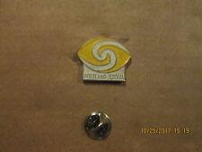 WFL Portland Storm Vintage Defunct Circa 1970's Logo Football Lapel Pin