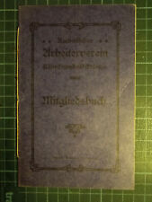 Katholischer Arbeiterverein Köln=Humboldtkolonie Mitgliedsbuch - 1926       (74)