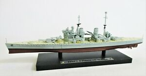 HMS Prince of Wales Boxed Atlas Editions Die-Cast WW2 Warship