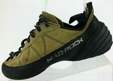 Mad Rock Climbing Shoes Black Green Suede Mountain Rock Cliff Sneaker Mens Us 9