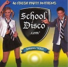 SCHOOL DISCO. com SPRING TERM DOUBLE CD DJ DISCO PARTY