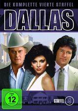 7 DVD Dallas - Die komplette vierte 4.Staffel - Neu OVP