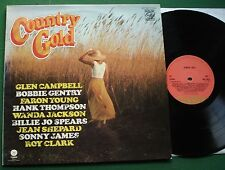 Country Gold Glen Campbell Bobbie Gentry Faron Young Billie Jo Spears + LP