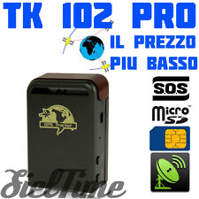 LOCALIZZATORE SATELLITARE TK 102 TRACKER GPS GSM GPRS ANTIFURTO MOTO SCOOTER