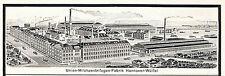 Union Milchkannen Fabrik Helms Hannover Wülfel 1924 Reklame Zentrifugen Hoco ad