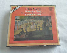 3 CD Box Set Eric Satie Works For Piano France Clidat Pantheon D16611 no ifpi