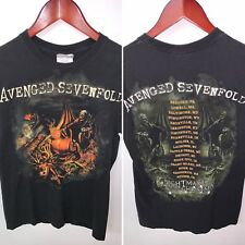 AVENGED SEVENFOLD Nightmare AFTER CHRISTMAS Tour TSHIRT Size Small