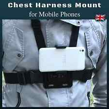 Chest Body Strap Harness Mount Holder for Mobile Phones iPhone Samsung HTC Sony