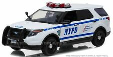 Greenlight 1/18 NYPD New York City Police Ford PI Utility SUV