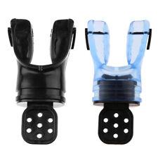 2Pcs Scuba Diving Moldable Mouthpiece Snorkel Diver Equipment