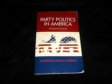 Party Politics In America 16th Ed - Marjorie Randon Hershey Softcover Textbook