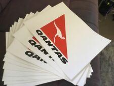 Qantas A4 Stickers X 10 Collectors Item