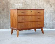 60er Teak Kommode Danish Mid-Century 60s Chest of Drawers Cabinet Vintage 50er