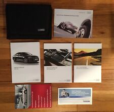 2017 Audi A6 Owners Manual + Navigation Manual + Case + Free Shipping