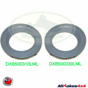 LAND ROVER FOG LAMP BEZEL SET PRIMED RANGE 06-09 DXB500310LML DXB500330LML AM4X4