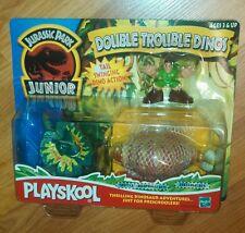 Hasbro Playskool Jurassic Park Junior Double Trouble Dinos *NIP* Ages 3+ RARE