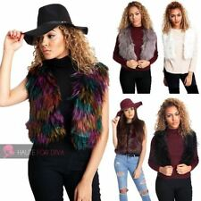 Unbranded Faux Fur Plus Size Clothing for Women