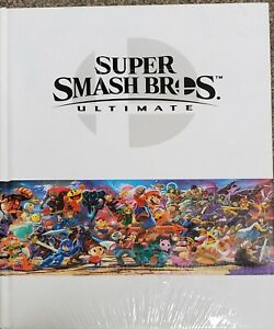 New Super Smash Bros Ultimate: Official Collector's Edition Guide NEW & SEALED!!