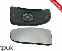 FORD TRANSIT MK8 LOWER DOOR WING MIRROR GLASS 2014 ON PASSENGER LEFT BACK PLATE