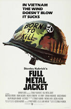 "FULL METAL JACKET Silk Movie Poster New 24""x36"" Stanley Kubrick Vietnam War"