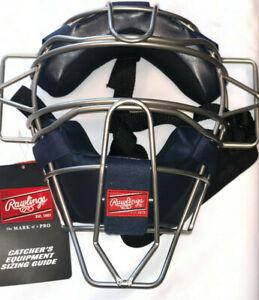 Rawlings Ultra Lightweight Adult Catcher's Face Mask - Navy
