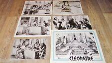 CLEOPATRE ! elizabeth taylor rare photos presse cinema  + scenario 1963 peplum