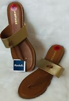 Rampage Leather Strap Beach Sandals. Size: 10