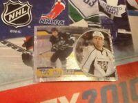 #258 Shea Weber Nashville Predators Panini NHL 2010 2011 ice hockey sticker foil