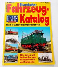 Eisenbahn Fahrzeug-Katalog - Bd. 4: Altbau-Elektrolokomotiven