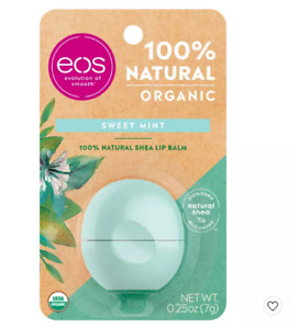 EOS Super Soft Shea Sphere Lip Balm -SWEET MINT  Deeply Hydrates and Seals