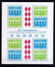 Monaco 1984 postfrisch MiNr. Block 26 Europa CEPT