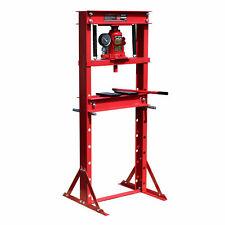 Presse d'atelier auto pompe hydraulique à châssis vérin manomètre pression 6-20T