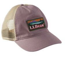 Women's LL Bean Mountain Hat SnapBack Adjustable Rose Ball Cap Patch Hat