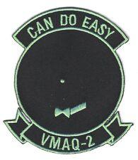 "USMC Marine patch:  Electronics Warfare Squadron 2, VMAQ-2 ""Can Do Easy"""