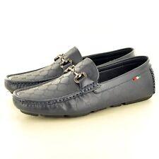 Hombre Piel Sintética Informal Mocasines Zapatos sin Cierres Avail GB Talla 6-11