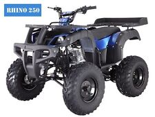 ATV New 250D RHINO Adult Full Size 4 Wheeler  w/Reverse! Free S/H 23