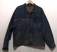 VTG Mens Levis Jean Jacket Denim Coat Size XL