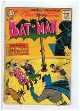 DC Comics Batman #103 VG- 1956