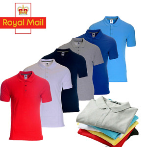 Polo Shirt  For Men pure Cotton Short Sleeve Premium Causal Tops Sale On-Kc