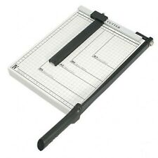 "Paper Cutter - 10"" x 10"" inch - Metal Base Trimmer Guillotine Type"