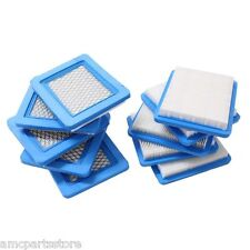 10 Pack Air Filters Replace Briggs & Stratton 491588 491588S 399959
