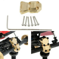 Gold Brass Counterweight Diff Cover For Axial SCX24 90081 1/24 RC Crawler Car