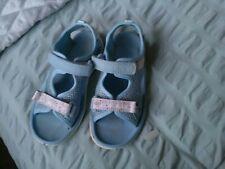 Clarks Blue Combi Washable Beach Sandals Size UK 10