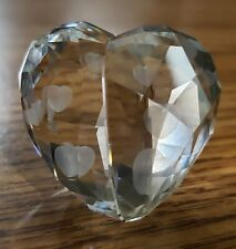 SWAROVSKI COLLECTIBLES Love Heart Silver Shade Medium 1096729 Figurine