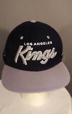 NHL LOS ANGELES KINGS Vintage Snapback ZEPHYR Z Hat Gray Flat Bill Cap